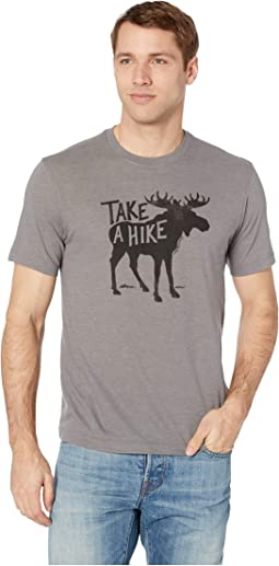 Take A Hike Moose Cool Tee™