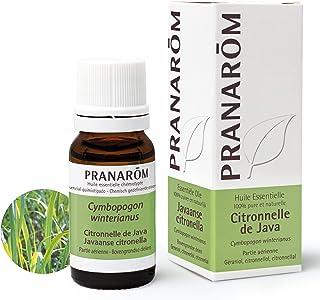 Pranarôm | Huile Essentielle Citronnelle de Java | Cymbopogon winterianus | Partie Aérienne | HECT |10 ml