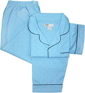 Ten West Apparel Men's Tall Short Sleeve Long Leg Pajamas