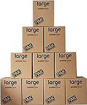 StorePAK Duże pudełka do przechowywania do dużych obciążeń, 107 litrów - wys. 540 x szer. 446 x gł. 446 mm (opakowanie 10 ...