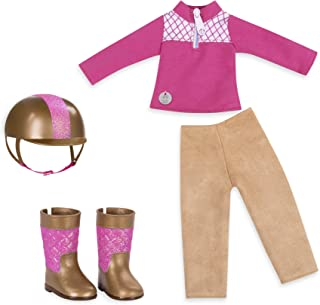 Glitter Girls by Battat - Ride & Shine Deluxe Equestrian Outfit - 14