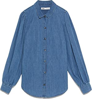 Zara Women Puff Sleeve Shirt 8566/240