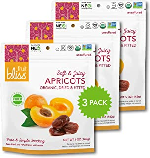 Sponsored Ad - Unsulfured Turkish Apricots - Organic Apricots Dried Fruit Snacks - Healthy Snacks for On the Go & Post Wor...