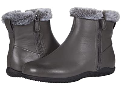 SoftWalk Helena (Dark Grey Leather) Women