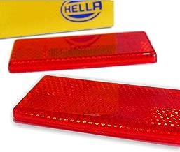4x Katzenaugen ROT NEU Reflektoren KfZ Rückstrahler für Auto Anhänger
