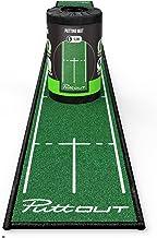 PuttOut Unisex Slim Golf Putting Mat, Groen, 25cm x 240cm