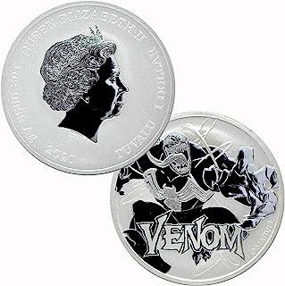 2020 Tuvalu 1 oz .9999 Silver Venom Marvel Series BU $1 Brilliant Uncirculated