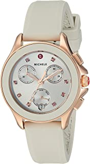 Womens 34.5mm, Cape Chrono Rose Gold/Taupe