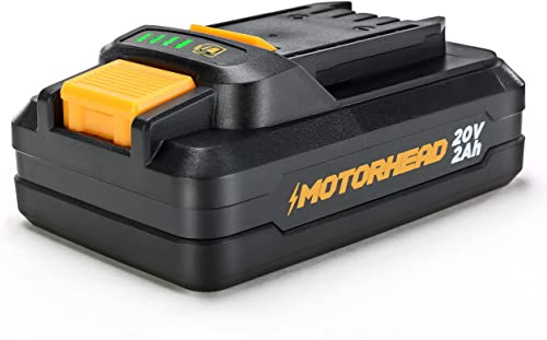 lowest MOTORHEAD 20V ULTRA Lithium-Ion Compact 2Ah Battery, outlet sale Compatible with online sale all 20V ULTRA Platform Tools, USA-Based outlet online sale