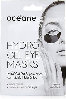 Máscara Hidrogel Para Olhos Hydrogel Eye Masks -Hialurônico, Océane, Preto