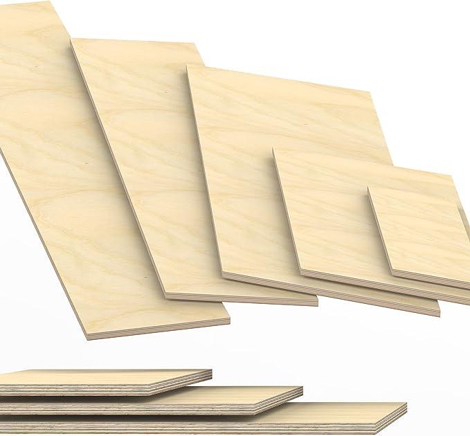 12mm Multiplex Zuschnitt schwarz melaminbeschichtet L/änge bis 200cm Multiplexplatten Zuschnitte Auswahl 50x50 cm