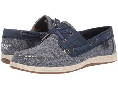 Sperry Koifish Sparkle Chambray (Navy) Women