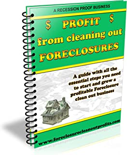 PROFIT from cleaning out FORECLOSURES