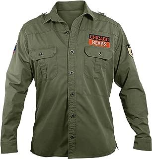 NFL Men's Military Field Shirt
