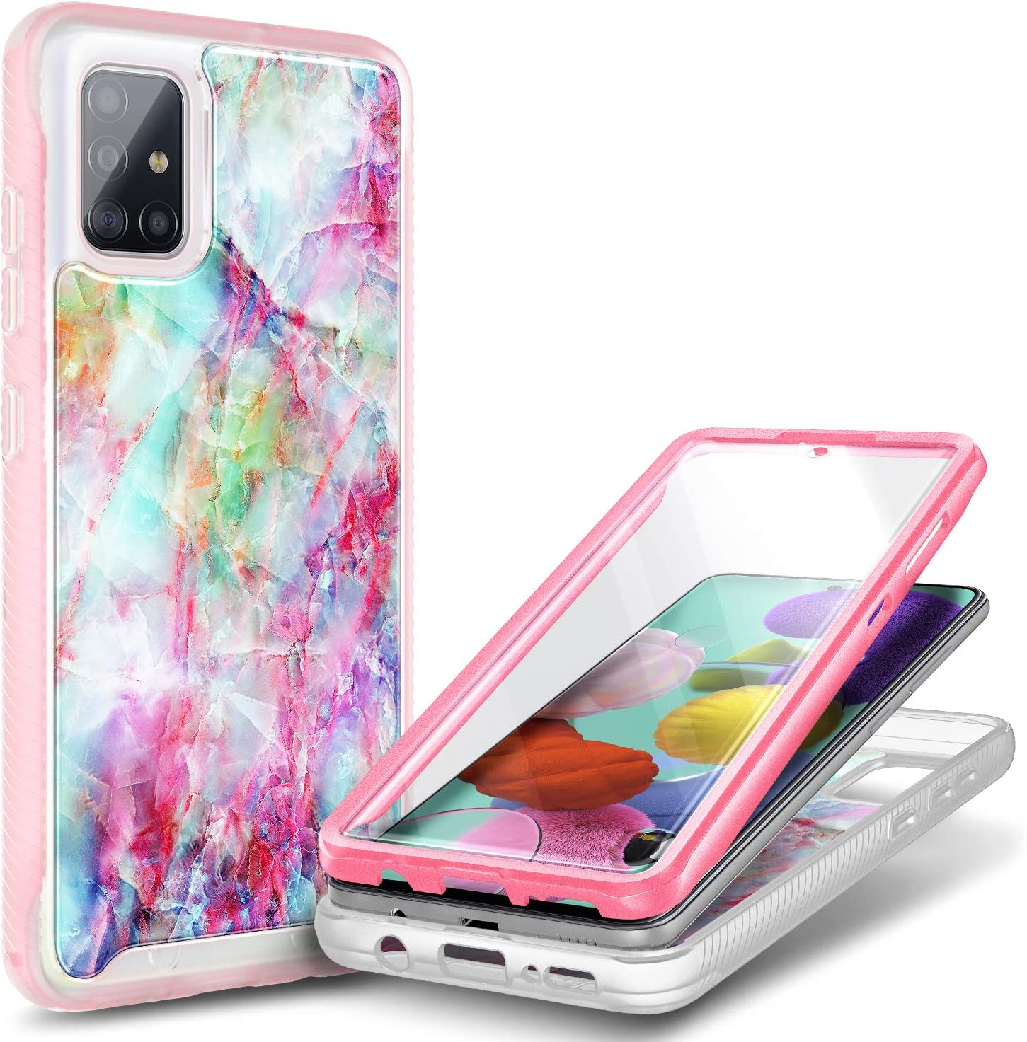 E-Began Case for Samsung Galaxy A51 Max 65% OFF with Screen Pro Year-end annual account 5G Built-in
