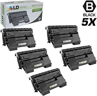 LD Remanufactured Toner Cartridge Replacement for Konica Minolta PagePro 4650EN A0FN012 High Yield (Black, 5-Pack)
