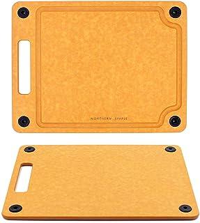 Northern Simple Planche à découper compacte de qualité supérieure - 23,5 x 30 cm - Antidérapante - Passe au lave-vaisselle...