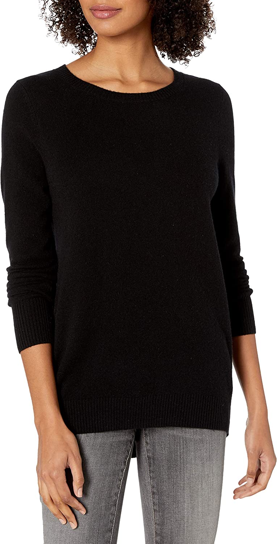 David Lerner Women's Cashmere Pullover W/Open Back