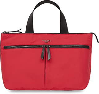 "Knomo Dalston Antwerp, 10"" Water-Resistant Mini Cross-Body, Red"