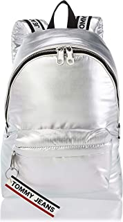 Tommy Hilfiger Backpack for Women-Silver