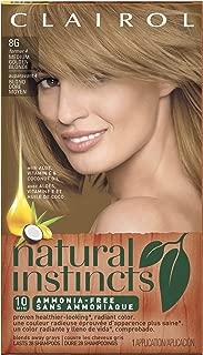 Clairol Natural Instincts 4 Sunflower Medium Golden Blonde 1 Kit (Pack of 3)