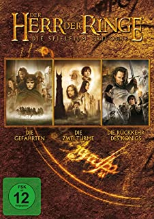 Der Herr der Ringe - Die Spielfilm Trilogie 3 DVDs