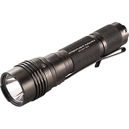 Black Streamlight 74502 Strion HPL 615-Lumen Compact Rechargeable Flashlight With 120V AC//12V DC Charger /& 2 Holders