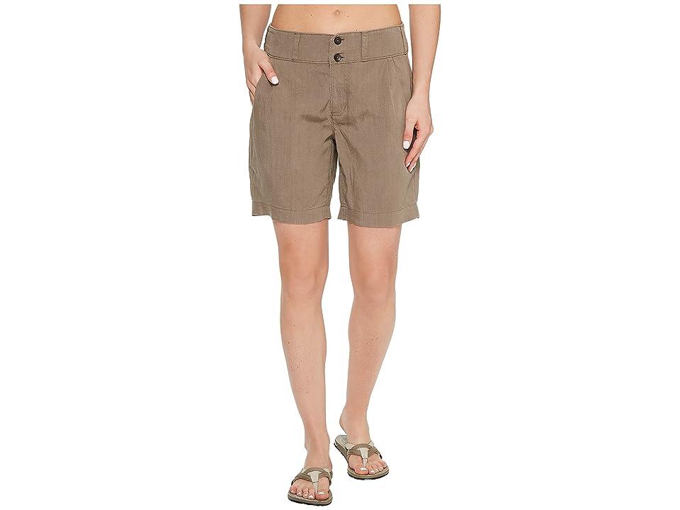 NAU Flaxible Long Shorts (Sable) Women