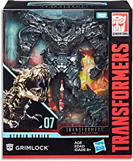 """TRANSFORMERS - 8"""" Grimlock Action Figure - Age of Extinction - Generations - Studio Series - Takara Tomy - Kids Toys - Ages 8+"""