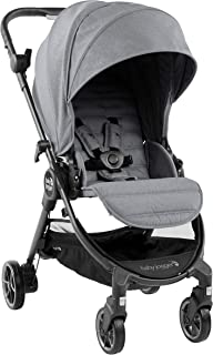 Baby Jogger City Tour LUX Stroller | Compact Travel Stroller | Lightweight Baby Stroller with Backpack-Style Carry Bag, Perfect for Travel, Slate