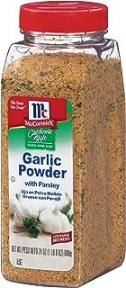 mccormick coarse ground garlic powder with parsley