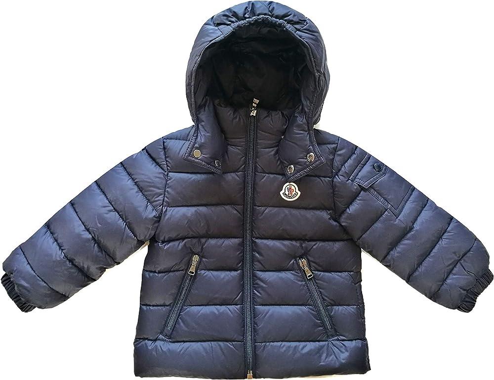 Moncler junior, giubbotto piumino con cappuccio da bambino,poliammide,imbottitura 90%piumino - 10% piuma 8058092927813