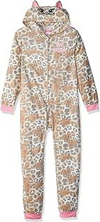 Girls' Big Animal Print Blanket Sleeper