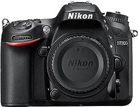 Nikon D7200 Wi-Fi Digital SLR Camera Body (Renewed)