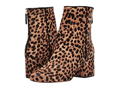 J.Crew Haircalf Sadie Ankle Boot (Sahara Brown) Women
