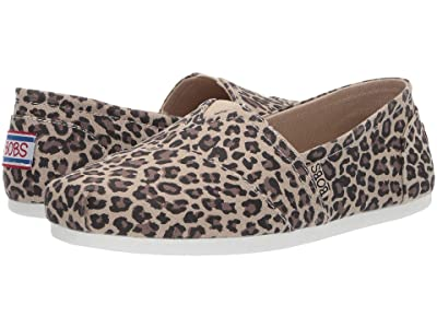 BOBS from SKECHERS Bobs Plush Hot Spotted (Leopard) Women