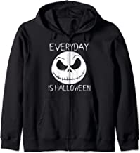 Everyday Is Halloween Jack O Lantern Creepy Gothic Zip Hoodie