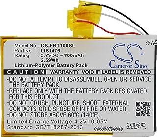 TECHTEK batterier vervangt 1-853-104-11, til LIS1476, til LIS1476MHPPC(SY6) compatibel met [Sony] PRS-T1, PRS-T2, PRS-T3, ...