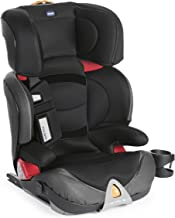 Chicco Oasys 2-3 Fix Plus - Silla de coche isofix Grupo 2/3 (15-36kg), color negro (Jet Black)