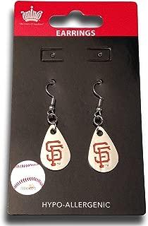 MLB Womens MLB Tear Drop Dangler Earrings