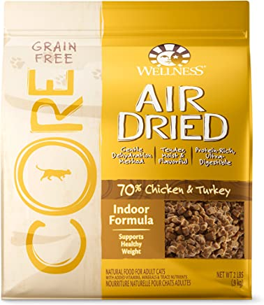Wellness Core Air Dried Natural Grain Free Dry Cat Food, 2-Pound Bag