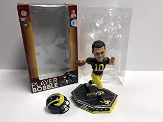Tom Brady with Removable Helmet Limited Edition Michigan Wolverines Bobblehead