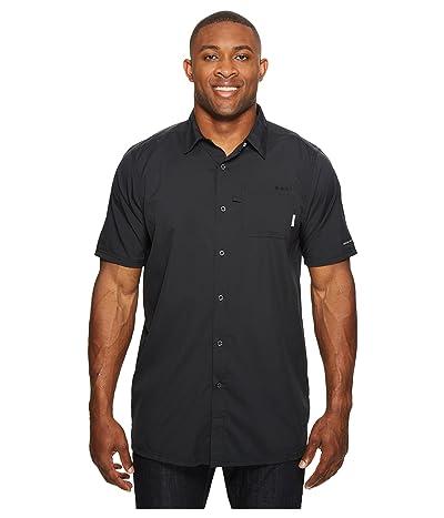 Columbia Big Tall Slack Tide Camp Shirt (Black) Men