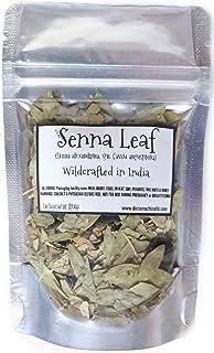 Reiki Charged Senna Leaf Senna Alexandrina Cassia Angustifolia Wildcrafted in India Loose Leaf Dried Tea 0.25 oz bag Small...
