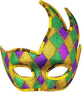 Masquerade Mask Venetian Party Mask Halloween Mask Costumes Mardi Gras Mask Party Accessory