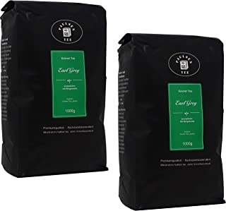 Earl Grey 2 x 1000g 20,98 Euro / kg Paulsen Tee Grüner Tee rückstandskontrolliert