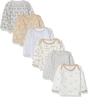 Care Camisa Manga Larga Bebé-Niños (Pack de 6)