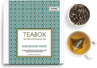Teabox Himalayan Darjeeling White Tea Bags - Pack of 16