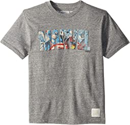 Vintage Tri-Blend Marvel Character Tee (Big Kids)