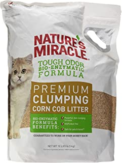Nature's Miracle Clumping Corn Litter 4.5kg (Bio Enzymatic Formula)